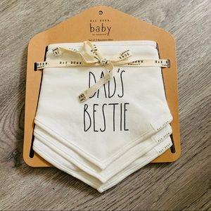 Rae Dunn Baby Bibs Dad's Bestie
